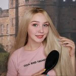 Ombre Blonde Straight Synthetic Lace Front Wig HS0023